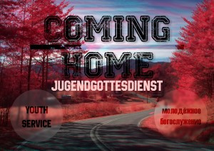 Coming Home Flyer 3 Vorderseite (Neu)